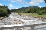 Rio Viejo Chiriqui near Volcan not far from the dam