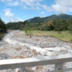 Rio Viejo Chiriqui near Volcan not far from the dam